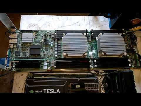 Деревенский суперкомпьютер  - приехали Tesla K20X