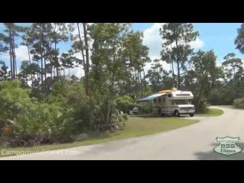 Rv Camping In Pine Island In Everglades Florida