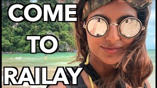 COME TO RAILAY BEACH THAILAND! | BEST PLACES TO GO THAILAND | BEST THINGS TO DO IN KRABI |