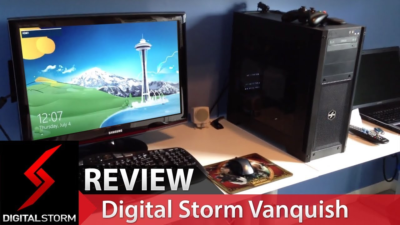 Digital Storm Vanquish - Level 4 Unboxing, Startup and Mini Review!