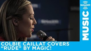 "Colbie Caillat ""Rude"" Magic! Cover // The Pulse // SiriusXM"