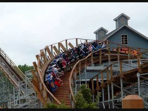 The Voyage Roller Coaster - YouTube