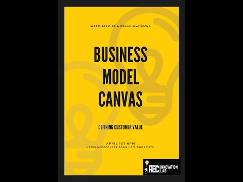 Defining Customer Value (Business Model Canvas) with Lisa Michelle Schloss