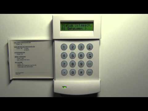 Galaxy G2-20 alarmsysteem resetten.
