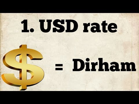 Morocco Dirham To USD Exchange Rate | Today Currency Exchange Rate In Morocco & Usa