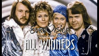 Eurovision All Winners 1956   2018