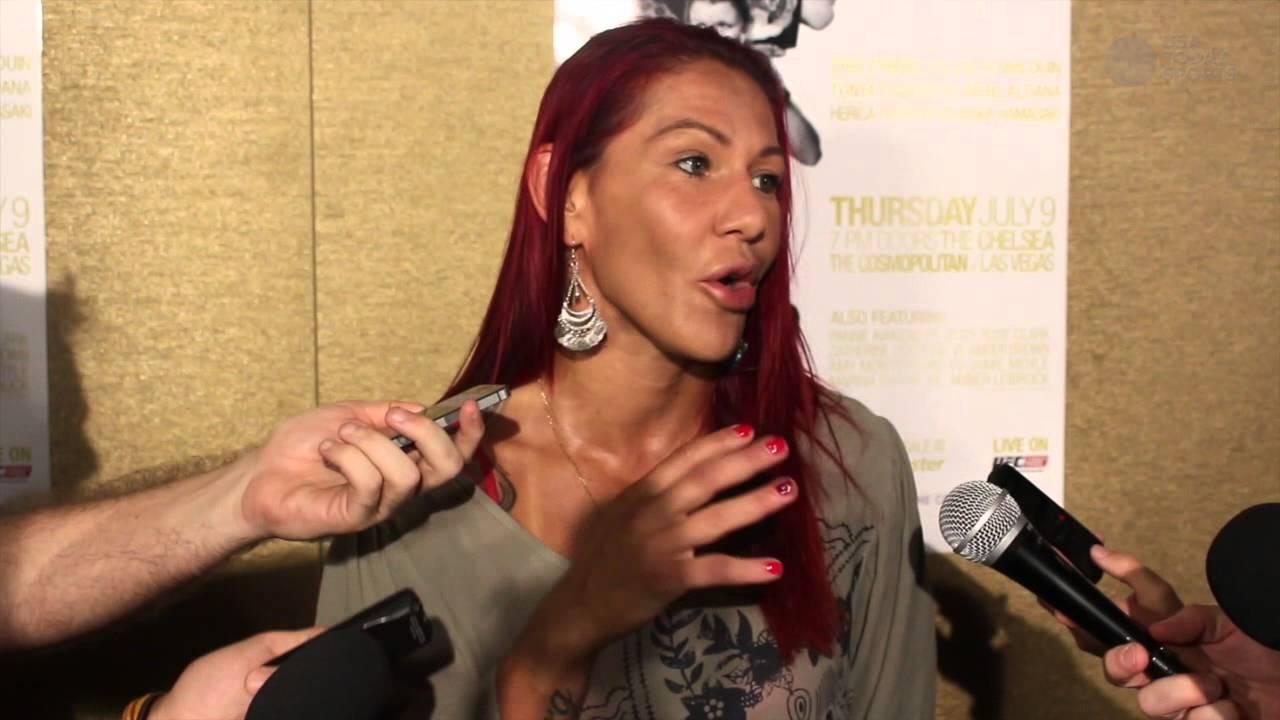 Cristiane Justino hopes Bethe Correia kicks Ronda Rousey's ass - YouTube