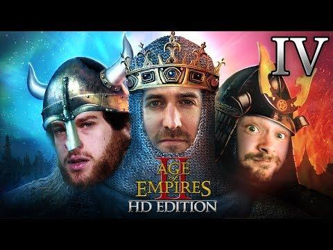 1 Runde mit Age Of Empires II HD Edition 2vs1 #04 mit Florentin, Donnie & Marco