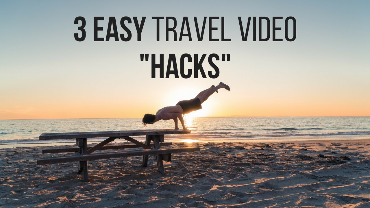 how to make travel video interesting