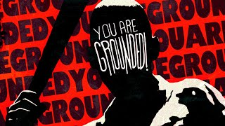 You are GROUNDED! - Horror Game Where You Are Grounded And Must Survive Your Angry Dad / ALL ENDINGS