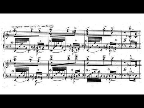"""Liszt - Rondo Fantastique """"El Contrabandista"""" Valentina Lisitsa"""