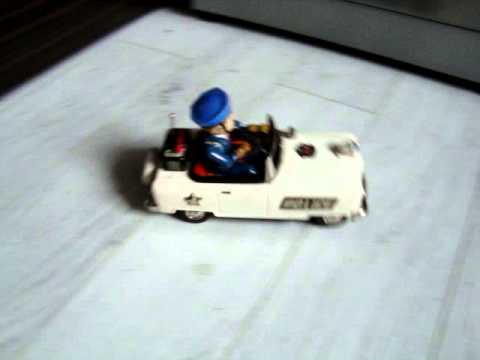 Battery Operated Police Car