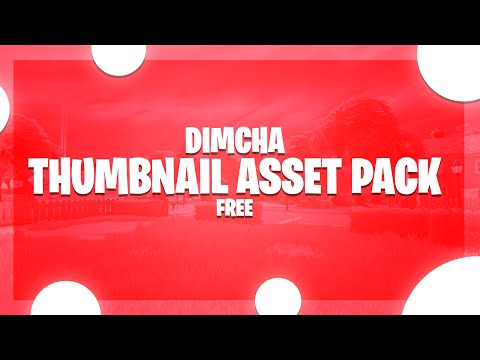 Dimcha Thumbnail Asset pack - Preview
