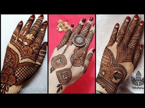 back side new mehndi design