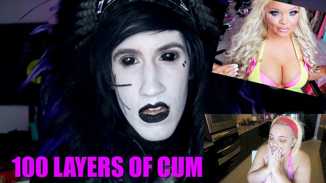 100 layers of cum