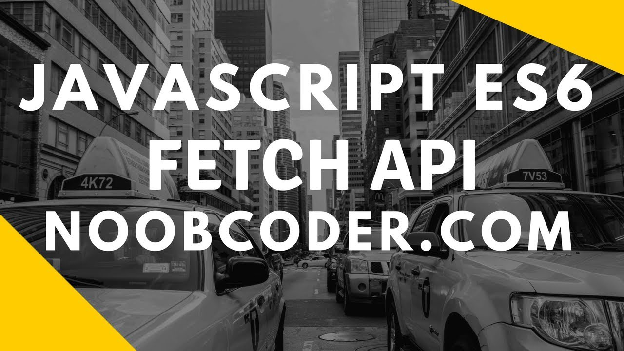 JavaScript ES6 Fetch API (CRUD Example)