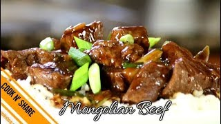 Mongolian Beef Fast and Easy