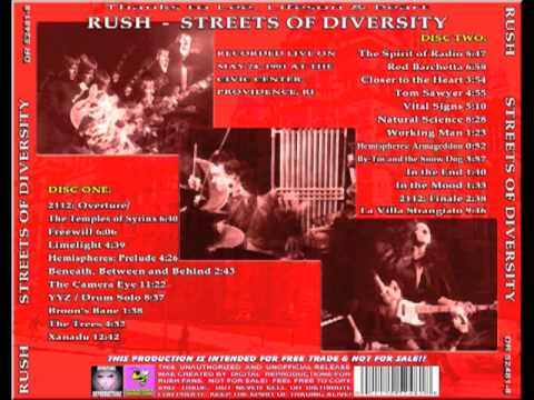 RUSH - Streets of Diversity - Moving Pictures Tour 1981 (full)