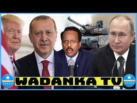 DEG DEG Ruushka Oo Aqbalay Codsigi Somalia, Turkiga Oo Kayaabsaday & Somaliland Oo Laqanciyay, Midni