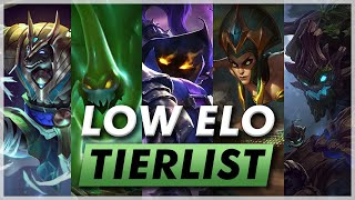 Best Champions In Low Elo Patch 10 7 Youtube