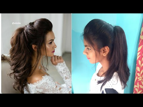 The Perfect High Ponytail with Puff | No Teasing, No Hairspray | Indian Hairstyles