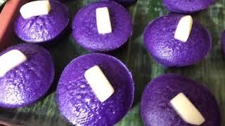 How To Make Ube Rice Puto