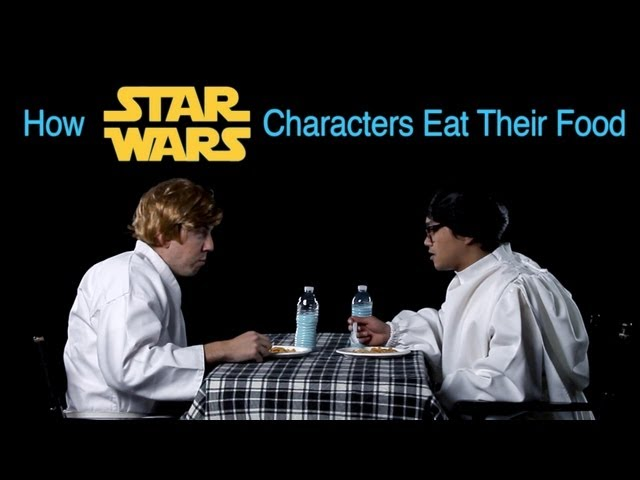 How Star Wars Characters Eat Their Food (How Animals Eat Their Food Parody)