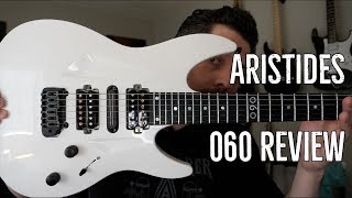 Gambar cover Aristides 060 Guitar Review: THE Modern Guitar.