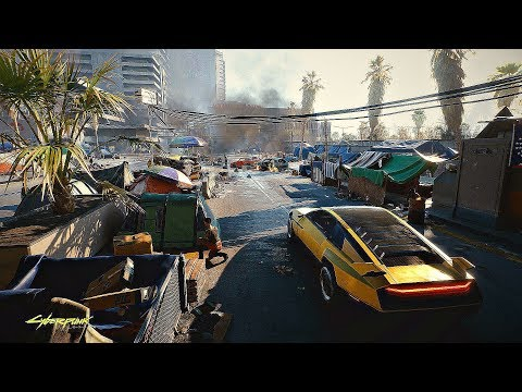 CYBERPUNK 2077 – 1 Hour of Open World Gameplay Walkthrough 4K