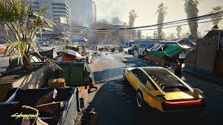 CYBERPUNK 2077 - 1 Hour of Open World Gameplay Walkthrough 4K