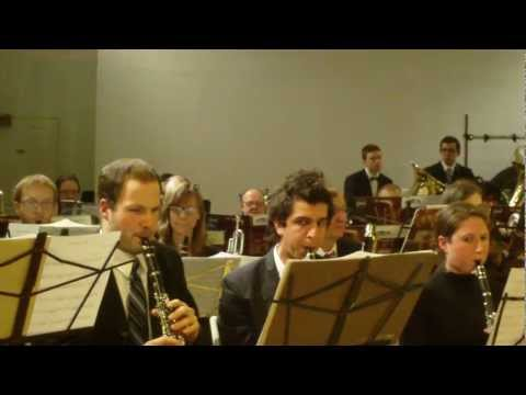 Sea Songs (1923) - Manhattan Wind Ensemble 12/13/2011