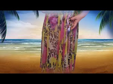 Как сшить пляжную юбку