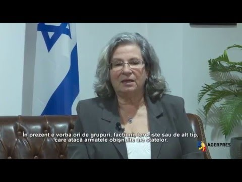 Interviu - Ambasadoarea Israelului, Tamar Samash