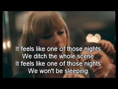 taylor swift 22 official video with lyrics youtube