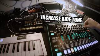 POV Tutorial: How to make classic early 90s Detroit Techno with Korg Volca FM, KeyStep, Roland TR-8