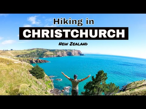HIKING IN CHRISTCHURCH - Godley Heads, New Zealand