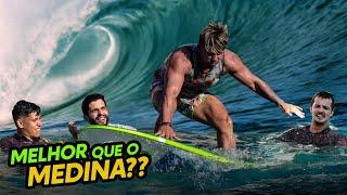 SURFAMOS NA PISCINA DA GAMELAND - QUASE IMPOSSÍVEL!!!