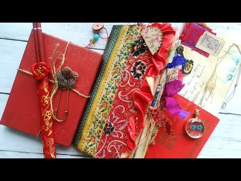 Madam Wong's Diary Vintage Oriental Junk Journal - The Graphics Fairy DT Project
