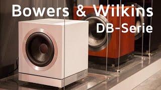 видео Сабвуферы серии DB от Bowers & Wilkins. Точность. Четкость. Мощь.