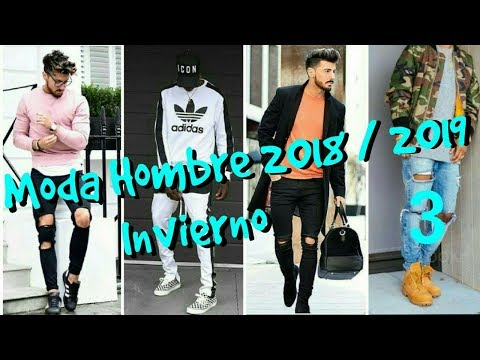 MODA HOMBRE INVIERNO 2018/2019 (TENDENCIAS) (Parte 3)