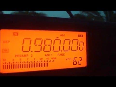 RADIO NACIONAL DE BRASILIA AM 980 kHz - SLOGAN / PROGAMA EU DE CA VOÇE DE LA -