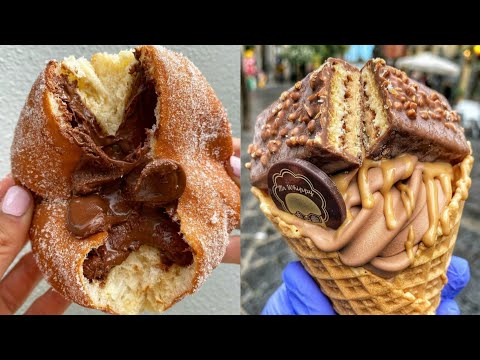 Awesome Nutella Dessert Cream Caramel Snack Cake Decorating Ideas | Yummy Oreo Food Compilation