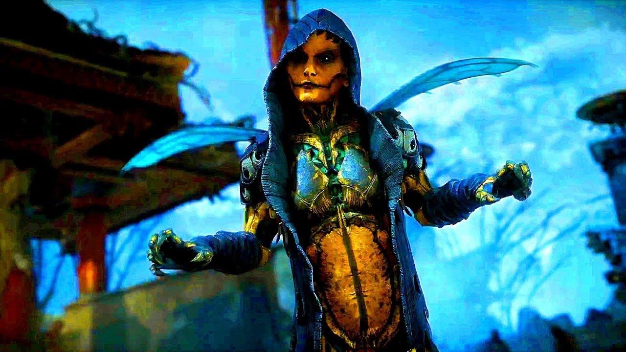 MORTAL KOMBAT 11 (MK11) D'VORAH Gameplay Walkthrough Demo MK11 (2019) PS4,  Xbox One, PC, Switch