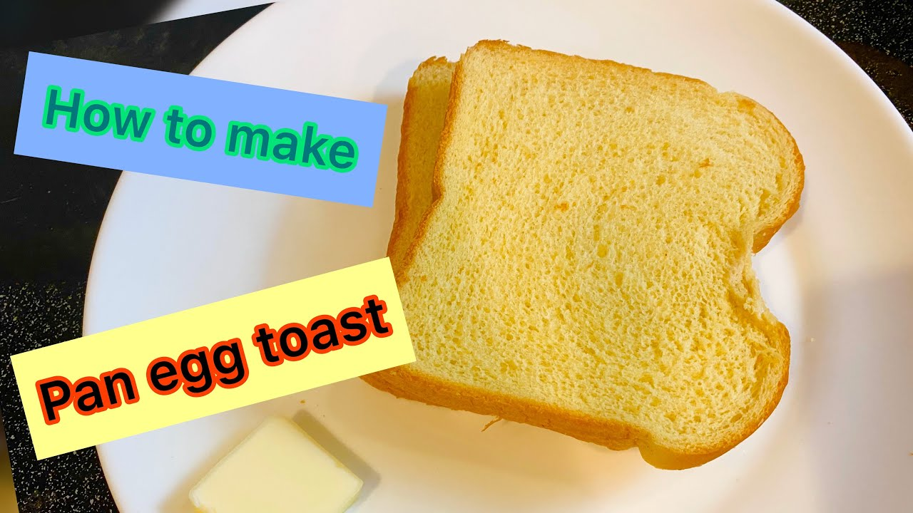 How to make one pan egg toast   Cuộc sống ở Mỹ