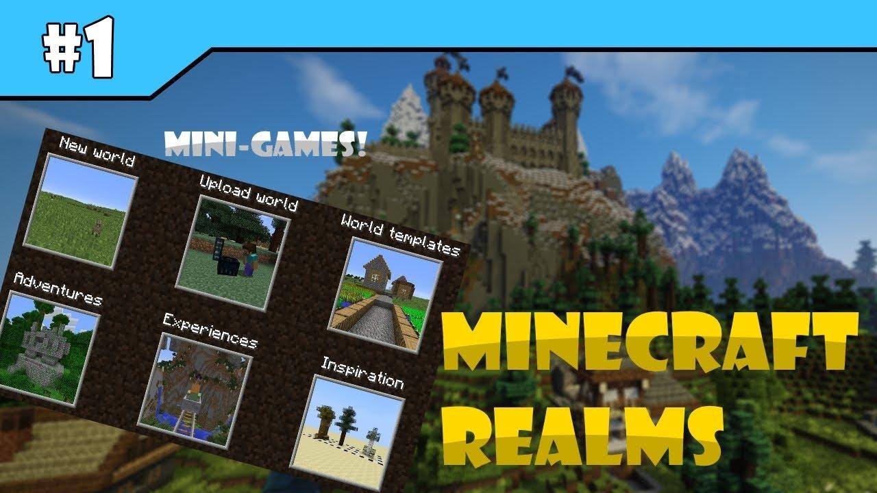 minecraft realms world templates