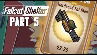Fallout Shelter Walkthrough Part 5 - FAT MAN ( Fallout Shelter Gameplay )