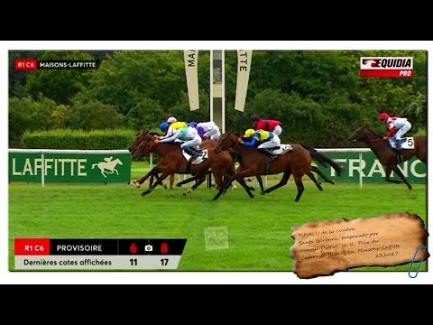 23Jul17 Prix du Carrousel (listed) en Maisons-Laffitte, Tuvalu, turf por Maspalomas