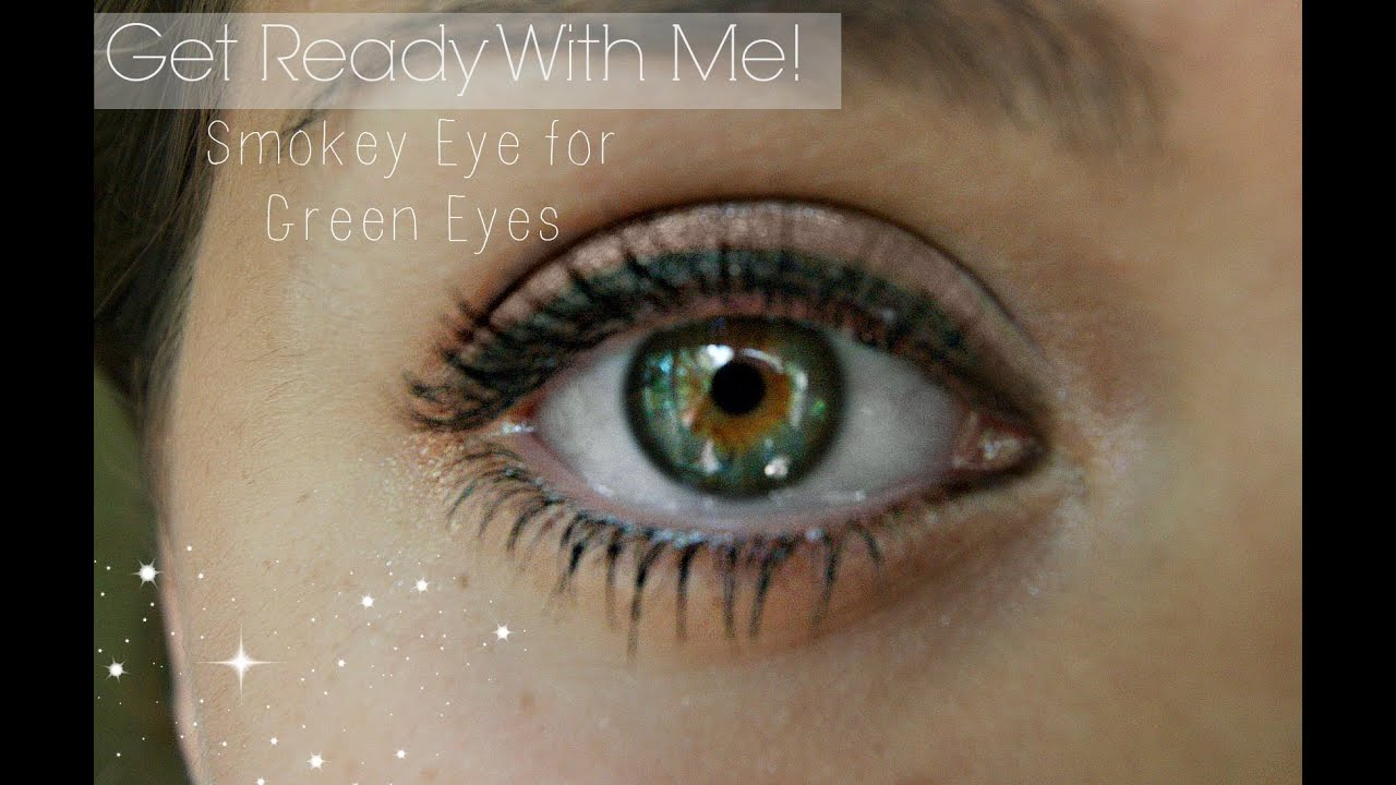 everyday makeup for green or hazel eyes