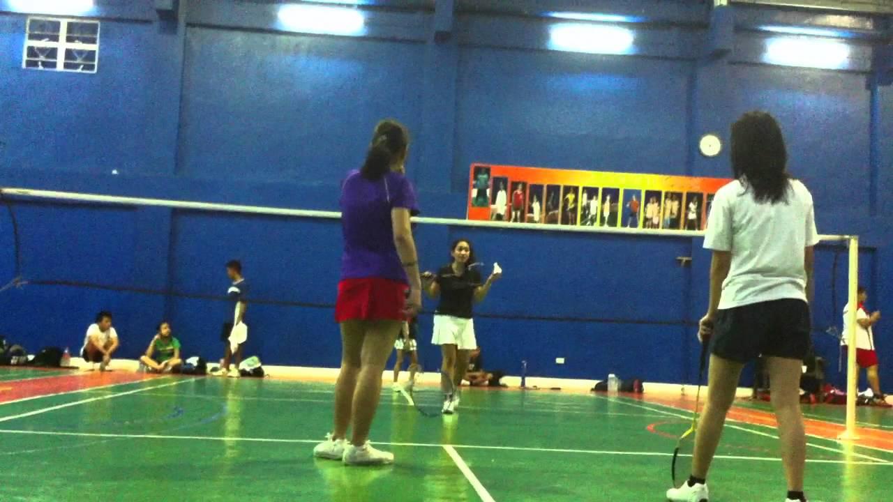 Diane De Luna Badminton