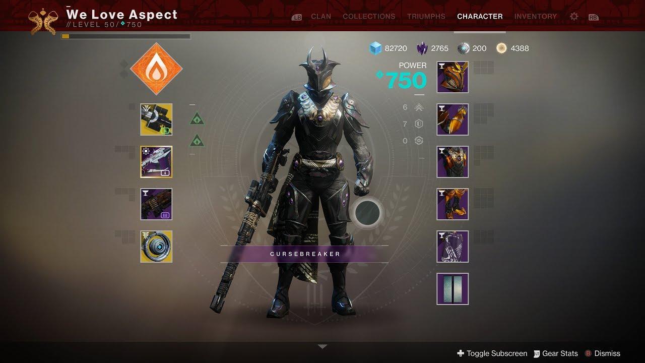 titan menagerie armor destiny 2